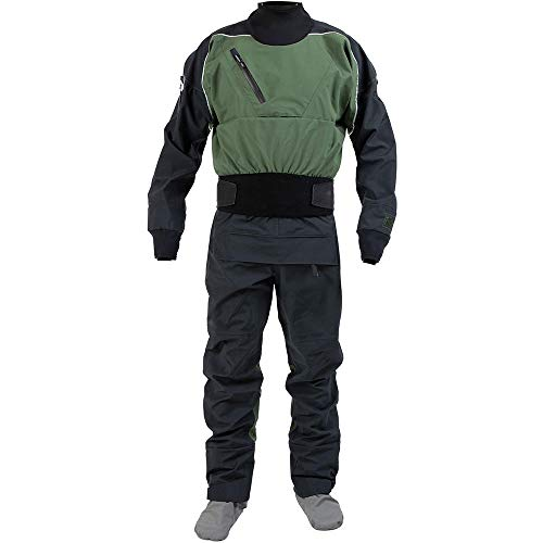 Manspyf Drysuits for Men Waterproof Work Suits for Kayaking Dry Suit