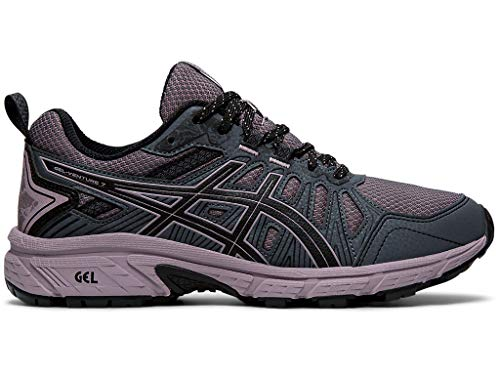 ASICS Women's Gel-Venture 7 Running Shoes, 10.5M, Carrier Grey/Violet Blush
