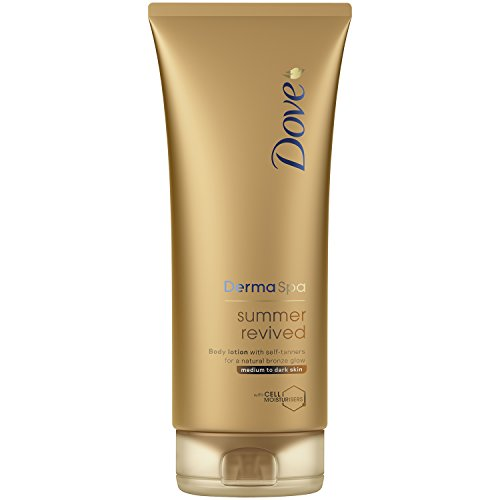 Dove Derma Spa Summer Media Resucitado a Dark Skin Body Lotion 200 ml