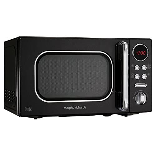 Morphy Richards Microwave Accents Colour Collection 511500 20L Digital Solo Microwave Black