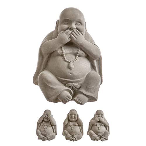 TIENDA EURASIA® Budas Ver Oir Callar - Set 3 Figuras Decorativas de...