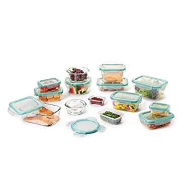 OXO Good Grips 30 Piece Smart Seal Leakproof Food Storage Container Set