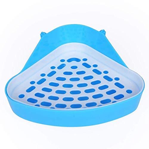 モルモットハムスター小動物三角トイレ、モルモットウサギのおしっこコーナーゴミ箱