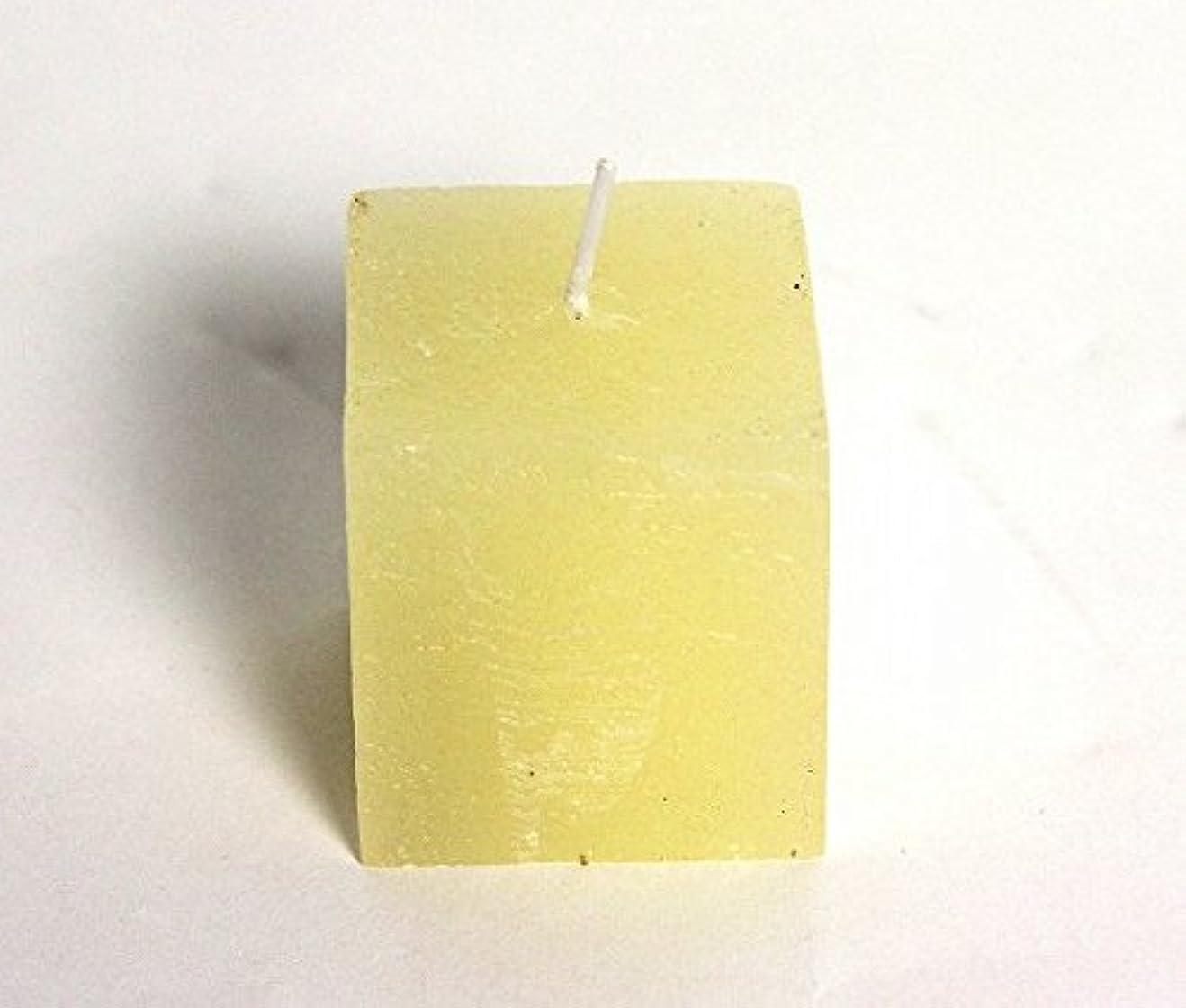 視力予想する消防士kameyama candle(カメヤマキャンドル) ラスティクミニキューブ 「 アイボリー 」(A4921000IV)