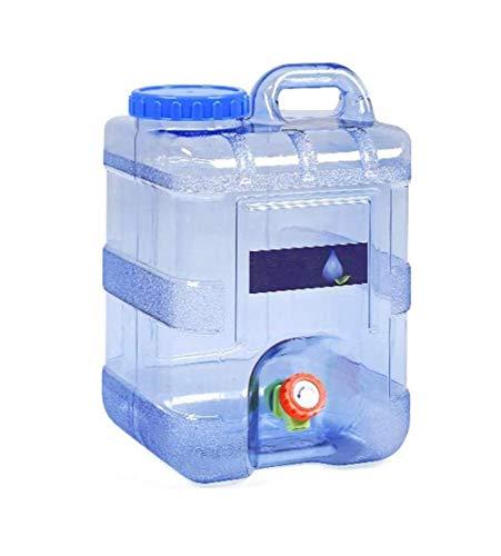 Fablcre 5L/ 8L/ 15 L Wasserkanister Tragbarer Eimer, Wassertank mit festmontiertem Ablasshahn, für Fahrzeug Camping Picknick Outdoor BBQ und Reise