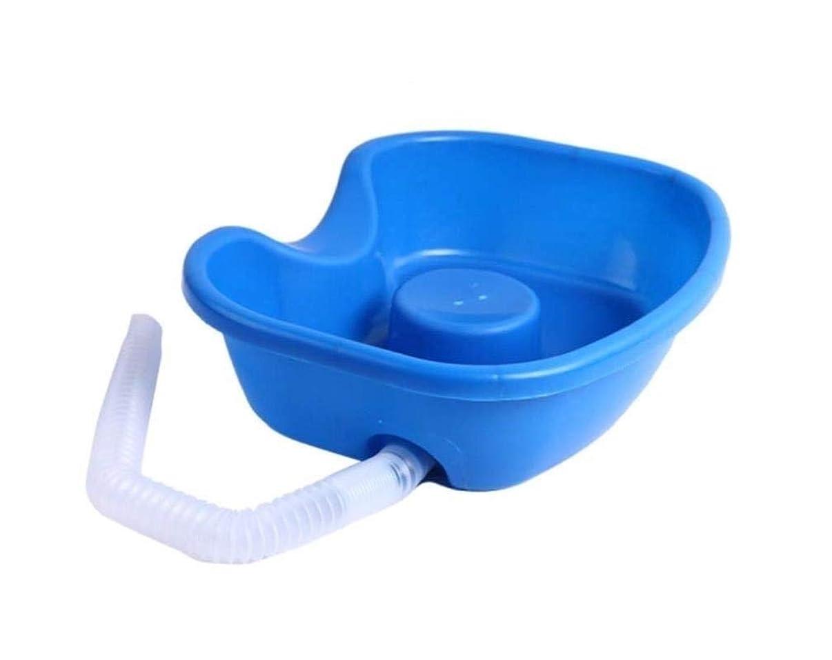 上抑制するランチ看護ベッド用シャンプー洗面台-ベッドで髪を洗う