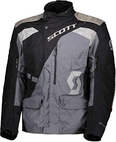 Scott Dualraid Dryo Motorrad Jacke schwarz/grau 2020: Größe: M (48/50)