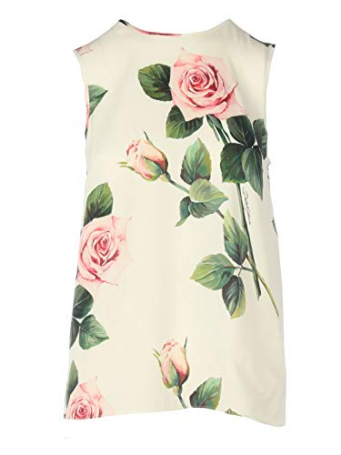 Luxury Fashion | Dolce E Gabbana Dames F7ZZCTFSAZDHA96C Wit Zijde Blouses | Lente-zomer 20