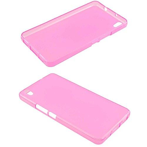 caseroxx TPU-Hülle für Medion S5504 MD 99905/99774, Handy Hülle Tasche (TPU-Hülle in pink)