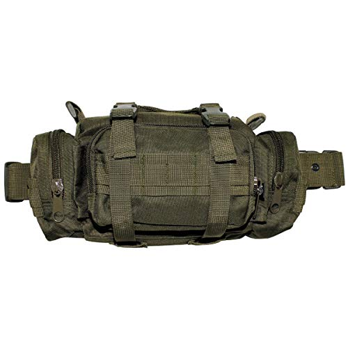 MFH 30703B Hüft- u. Schultertragetasche (Oliv/30 x 15 x 7 cm)