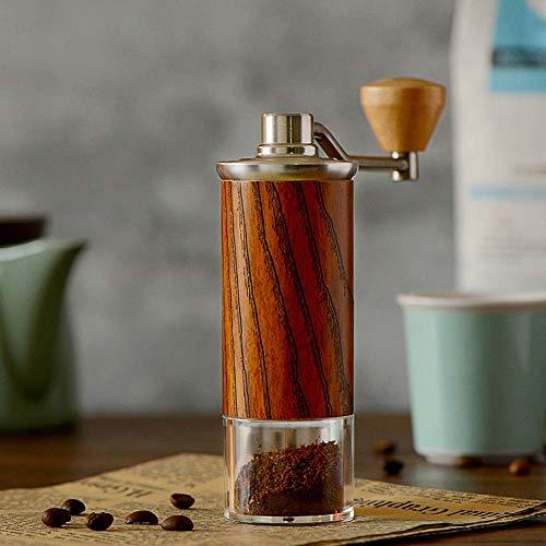 Fantastic Prices! Manual Coffee Grinders Hand-cranked Bean Grinder Wood Stainless Steel Three Colors...