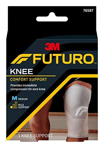 FUTURO Comfort Knee Support, Breathable, Medium