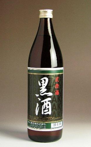 【東酒造】黒酒(灰持酒) 900ml