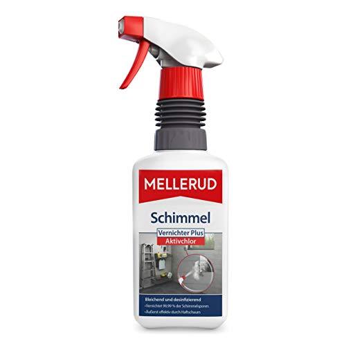 Mellerud Schimmel Vernichter Plus Aktivchlor – Hocheffektives Schaumspray zur Schimmelentfernung auf Fliesen, Fugen, Wänden, Decken u. v. m. – 1 x 0,5 l