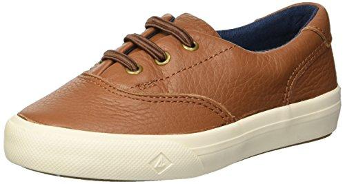 Brown Saltwash Sperry Boys Halyard H/&L Sneaker 6 Wide US Toddler