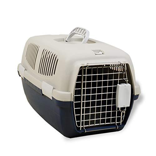 Gabbiette cucce Pet Box Box Pet Box Gabbia per Gatti Gabbia per Gatti Portatile Pet Box 7-15kg Pet Custodia da Viaggio Traspirante Cintura di Sicurezza per Animali Domestici
