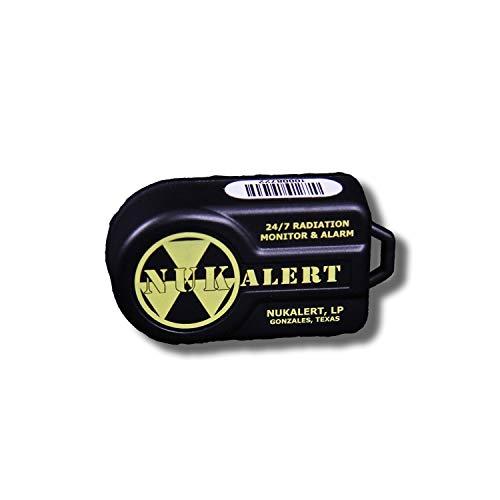 Nuke Alert for Radiation.Nuclear Radiation Detector/Monitor Alarm
