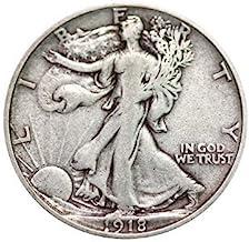 Various Mint Marks Walking Liberty Half Dollar XF/VF 90% Silver Extra Fine Half Dollar Very Fine Half Dollar Extremely Fin...
