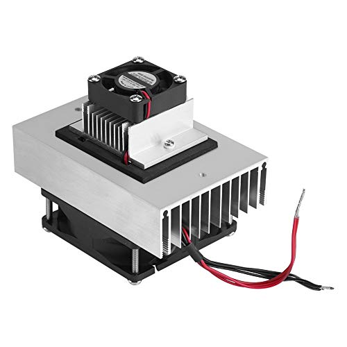 Thermoelectric Peltier Cooler Refrigeration - Cooling System Heat Sink Conduction Module Semiconductor Fridge Refrigeration Cooling System DIY Kit Mini Air Conditioner,DC 12V