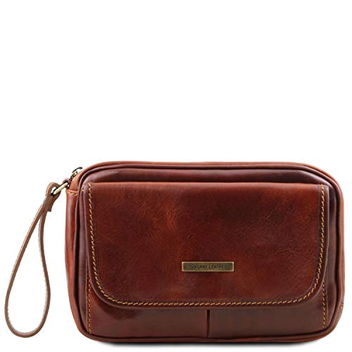 Tuscany Leather - Ivan - Borsello a mano in pelle Marrone - TL140849/1