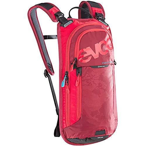 EVOC Performance Rucksack STAGE 3L TEAM + 2L Bladder, red-ruby, ONE SIZE, 7100209503