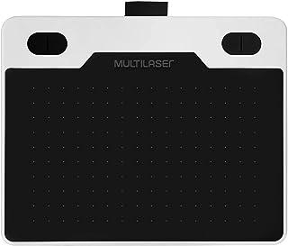 Mesa Digitalizadora Criativa Slim 6 Polegadas Multilaser - MX001, Preto