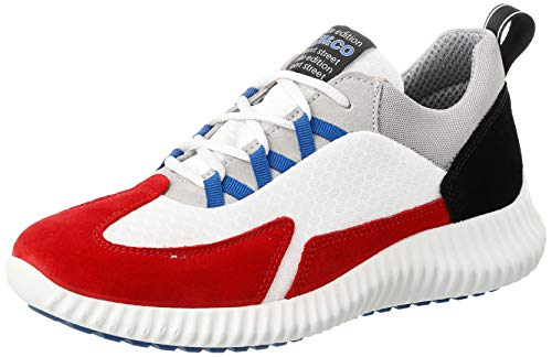 IGI&CO Scarpa Uomo UIL 51236, Sneaker, Rosso (Ciliegia 5123600), 43 EU