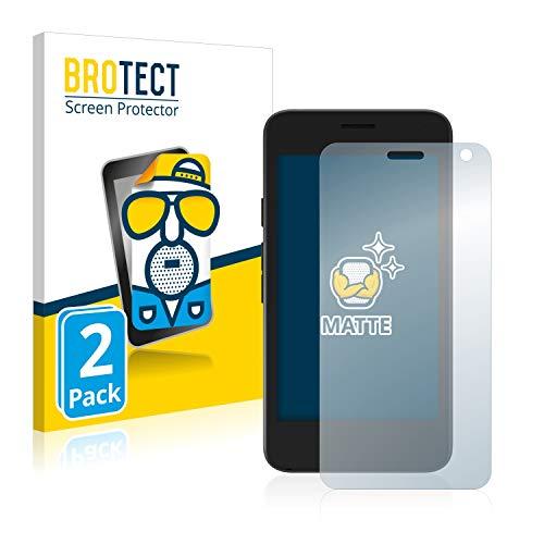 BROTECT 2X Entspiegelungs-Schutzfolie kompatibel mit Archos Access 45 Bildschirmschutz-Folie Matt, Anti-Reflex, Anti-Fingerprint