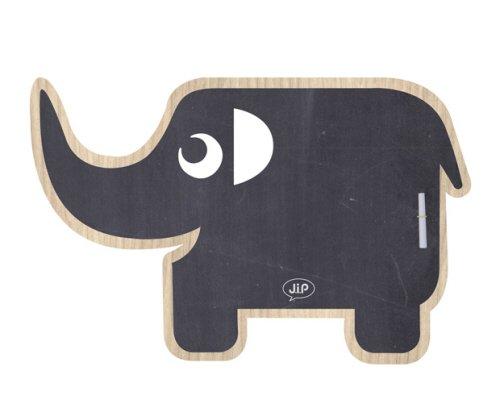 JIP JIP0818 Tableau Ardoise Ellie l'Éléphant 54 x 55 cm