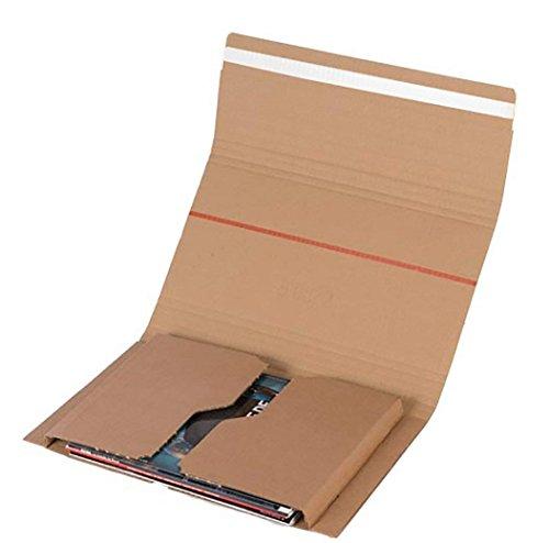 ELBA 400079262 Versand-Verpackung Mail und Ship Maxibriefkartons 10 Stück DIN A5 Kartons für Warensendung, Wickelverpackung für Büchersendungen