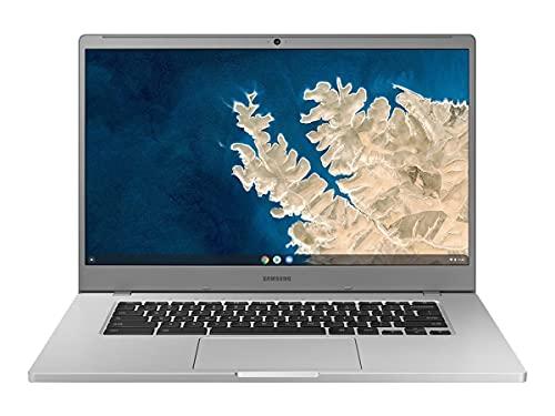 "- Portátil Samsung Chromebook 4 + Celeron N4000 6GB 64GB 15.6"" platino titán (Android)"