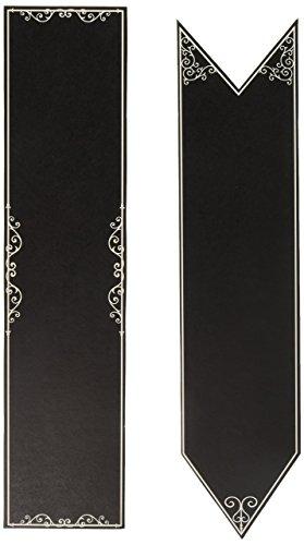 Darice DTB3112 6Piece, David Tutera Casual Elegance Chalkboard Signs