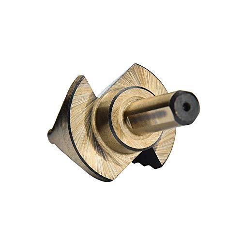 WEI-LUONG Tools Step Drill bit - 5Pcs High Speed Steel Step Drill bit Set Spiral Groove Round Shank T-WIST Drills Drilling Tool Drill Bit