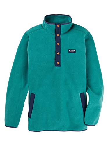 Burton Herren Hearth Fleece Pullover, Antique Green, L