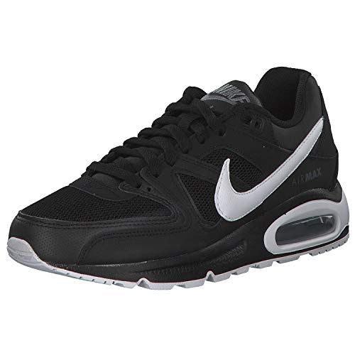 Nike Air Max Command, Scarpe da Ginnastica Basse Uomo, Nero (Black/White/Cool Grey), 42.5 EU