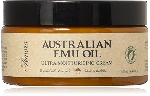 Paraben-free Australian Emu Oil Ultra Moisturizing Cream (8.45 oz | 250 ml) Pharmaceutical Grade, Super Strength, Made in Australia