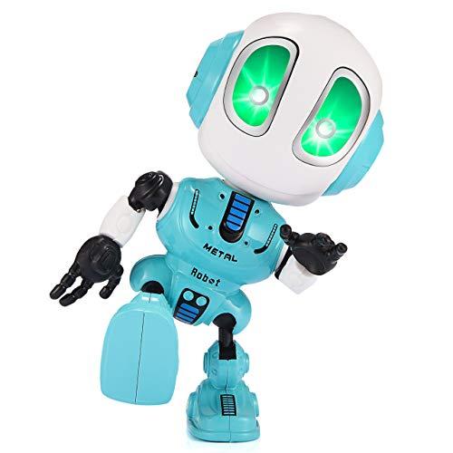 Tesoky RobotGiocattoloBambini, Giocattoli Bambino 3-8 Anni Regali Bambino 3-8 Anni Robot Bambini 4-8 Anni Giocattoli per Bambino 3-8 Anni Regali di Compleanno per Bambini Puzzle Bambini 3 Anni