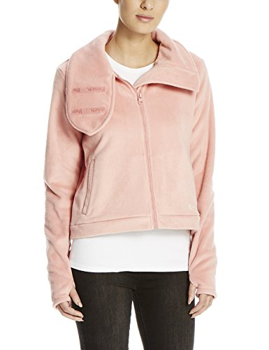 Bench Damen Fleecejacke DIFFERENCE, Gr. Small, Rosa (Light Pink PK162)