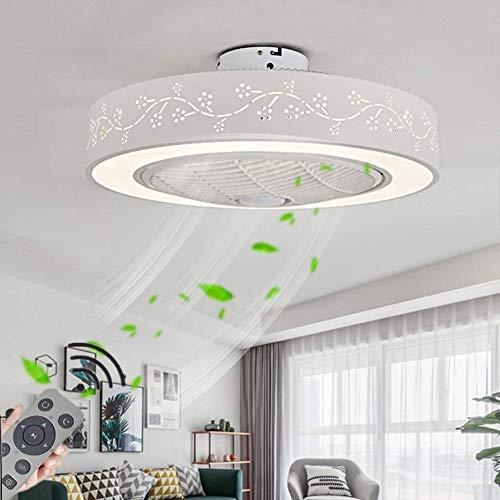 SYYS Ventilador De Techo De Ø55cm con Lámpara LED 72W Moderno Techo Regulable Ventilador De Luz De Techo con Luz Ajustable De La Velocidad De La Velocidad De La Velocidad del Viento Iluminación