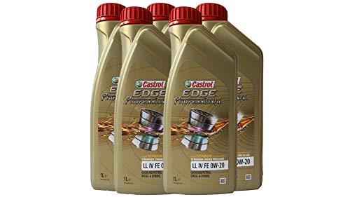 Motoröl für den Ölwechsel am VW Golf 8 - Castrol Edge Professional LL IV 0W20