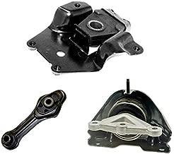 ONNURI For 2002-2005 Chevrolet Cavalier/Sunfire 2.2L DOHC AUTO Motor & Transmission Mount Set 3pcs : A5347, A2798, A2820 - K2112
