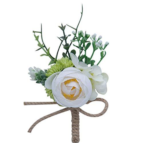 yanni 1 broche pour bouquet de fleurs artificielles pour femme et homme avec épingle