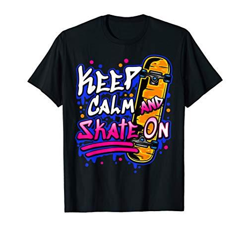 Skateboarding Funny Skateboarder Gift Skateboard T-Shirt