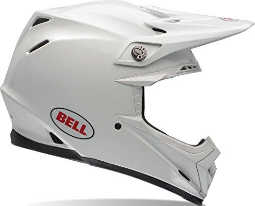 Bell Moto-9 Flex, Solid White, Größe XS