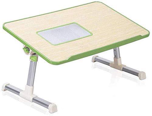 TRYSHA Tafels Desk Practice overhellen hoogte verstelbaar Folding Schraag Portable Laptop Stand Computer Radiating Hole (Kleur: Groen, Maat: 2) Draagbare computerstandaard (Color : Green, Size : 2)