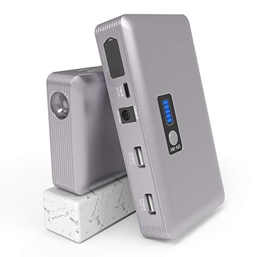 MAGO starthulp 1000A Jump Starter Booster accu 28000mAh Power Bank met USB QC 3.0 & Type-C aansluiting voor Smartphone Tablet,Fit 12V Auto Diesel A benzine