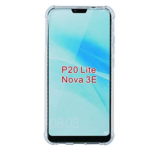 swark Case Compatible with Huawei P20 Lite Cover Ttimao Morbida Trasparente TPU Silicone Pad Aria Design Drop Protection Ultra Sottile Antiurto Antiurto Anti-Sratch