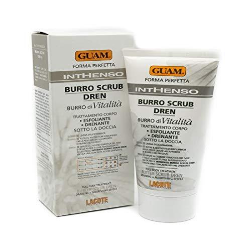 Guam Inthenso Burro Scrub Dren Esfoliante Drenante Sotto La Doccia 150 ml