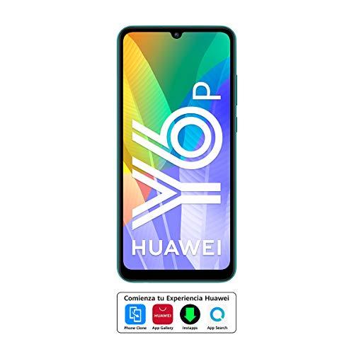"""Huawei Y6p - Smartphone con Pantalla de 6.3"""" (3 GB RAM+64 GB ROM, Procesador Octa-Core, Triple cámara de 13MP, Lente Ultra Gran Angular, Batería de 5000 mAh) Verde"""