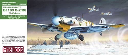 orden en línea 1 72 Luftwaffe fighter Messerschmitt Bf109G-2 R6  Grun Hertz Hertz Hertz  (japan import) by Fine Molds  n ° 1 en línea